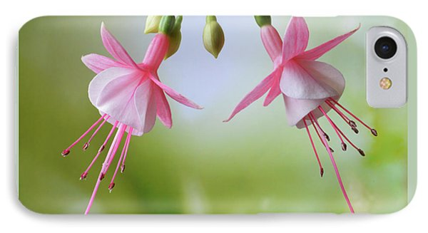 IPhone Case featuring the photograph Dancing Fuchsia by Terence Davis