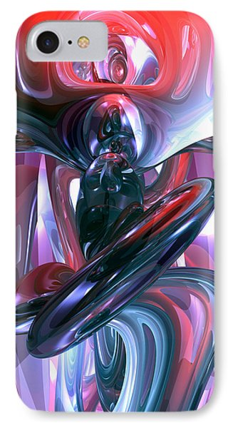 Dancing Hallucination Abstract Phone Case by Alexander Butler