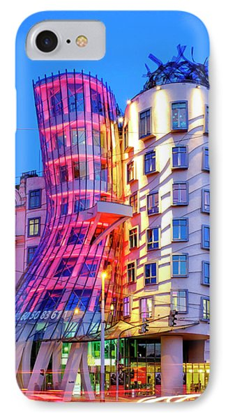 IPhone Case featuring the photograph Dancing House by Fabrizio Troiani