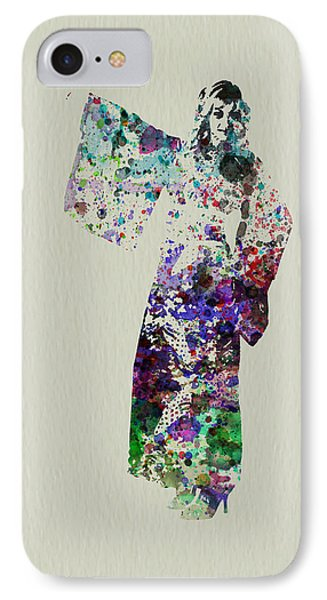 Dancing In Kimono IPhone Case by Naxart Studio