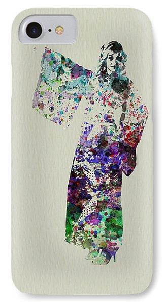 Dancing In Kimono IPhone Case by Naxart Studio
