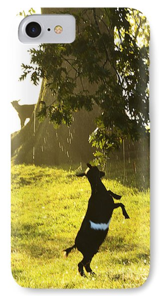 Dancing In The Rain IPhone Case by Thomas R Fletcher