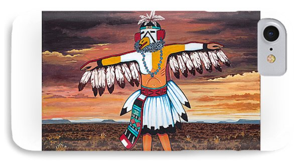 Dancing Kachina IPhone Case
