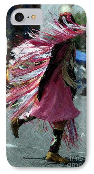 Dancing Phone Case by Kathleen Struckle