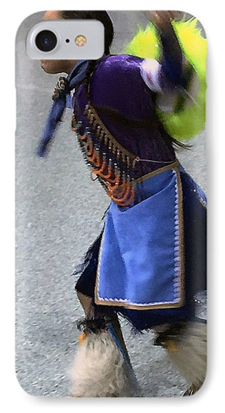Dancing Native Child IPhone Case