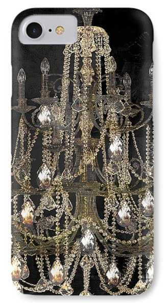 Lit Chandelier IPhone Case by Mindy Sommers