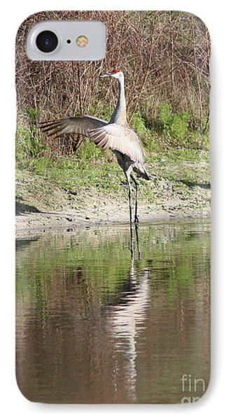 Dancing On The Pond Phone Case by Carol Groenen