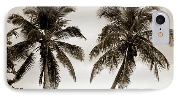 Dancing Palms Phone Case by Susanne Van Hulst