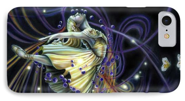 Dancing Stars IPhone Case by Wayne Pruse