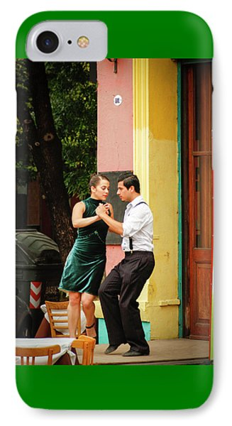 Dancing Tango IPhone Case by Silvia Bruno