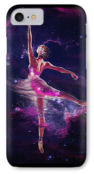 IPhone Case featuring the digital art Dancing The Universe Into Being 2 by Jane Schnetlage