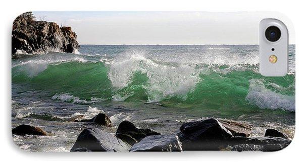 Dancing Waves IPhone Case by Sandra Updyke