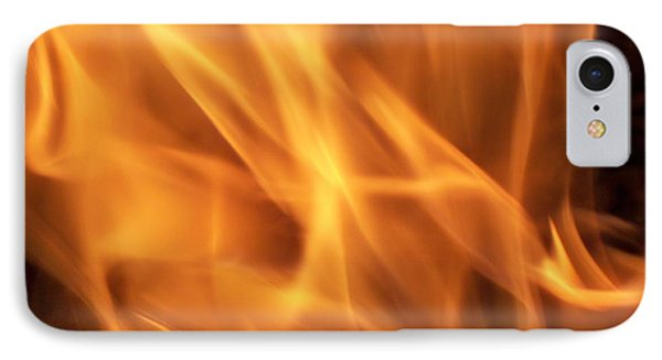 IPhone Case featuring the photograph Dancing With Fire by Betty Northcutt