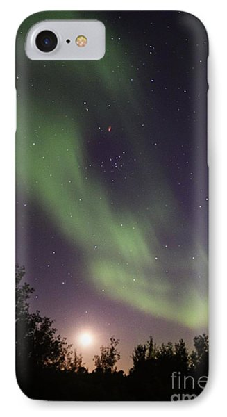 IPhone Case featuring the photograph Dancing With The Moon by Larry Ricker