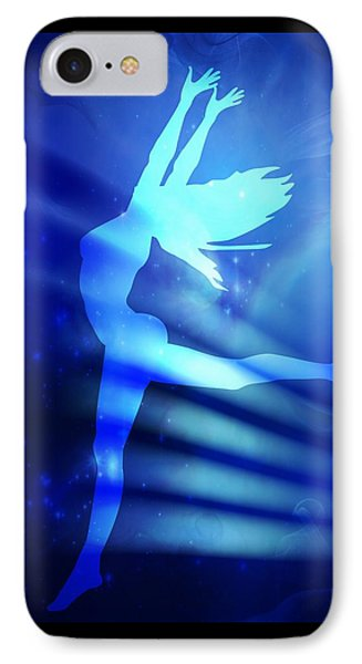 Dancing Woman IPhone Case by Serena King