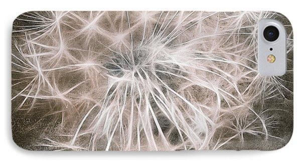 Dandelion In Brown Phone Case by Aimelle