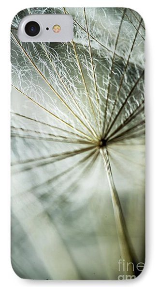 Dandelion Petals Phone Case by Iris Greenwell
