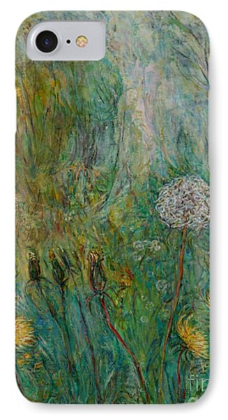 Dandelions IPhone Case by Anna Yurasovsky