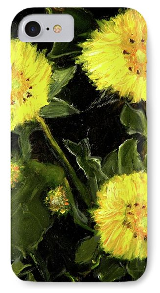 Dandelions By Mary Krupa  IPhone Case by Bernadette Krupa