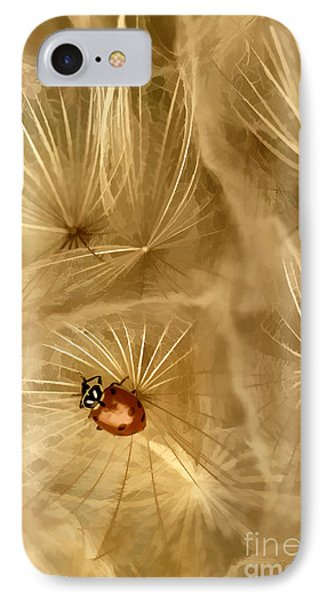 Dandelions Fairy Tales Iv Phone Case by Iris Greenwell