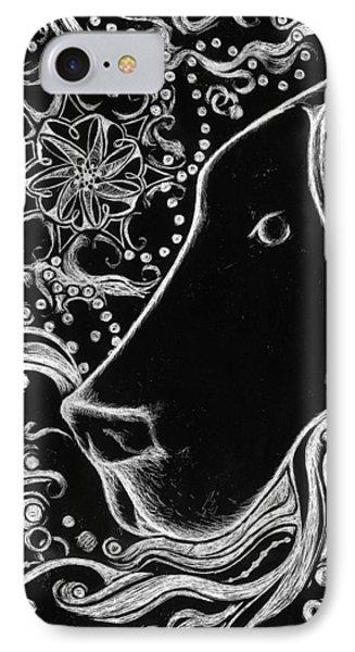 Dane Doodle IPhone Case by Laura Lobner