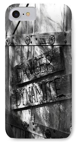 Danger Dynamite IPhone Case