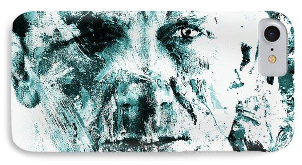 Daniel Craig 3b IPhone Case by Brian Reaves