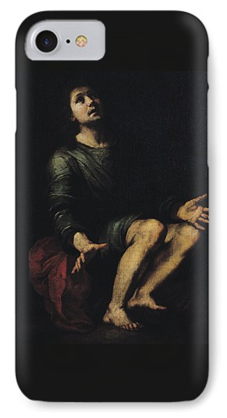 Daniel In The Lions' Den IPhone Case by Bartolome Esteban Murillo
