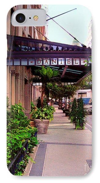 Daniel Restaurant In Nyc Phone Case by Madeline Ellis