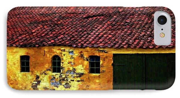 Danish Barn Watercolor Version Phone Case by Steve Harrington
