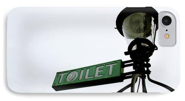 Danish Toilet Sign IPhone Case