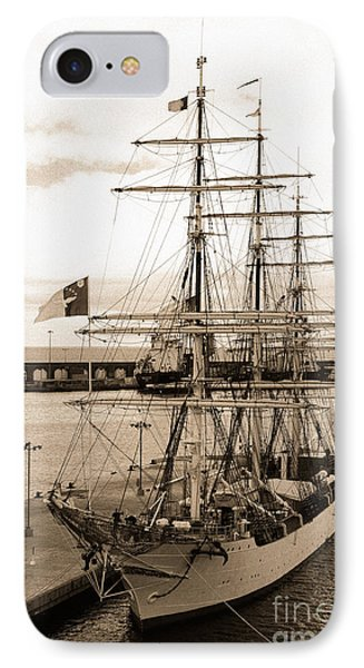 Danish Training Ship IPhone Case by Gaspar Avila