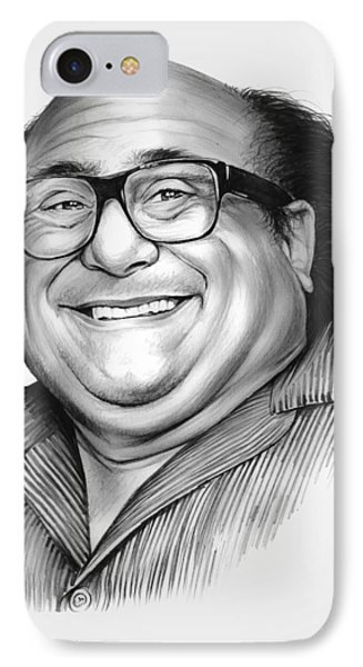 Danny Devito IPhone Case by Greg Joens
