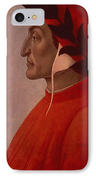 Dante IPhone Case by Sandro Botticelli