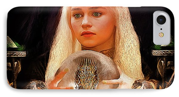 IPhone Case featuring the painting Dany by Michael Cleere