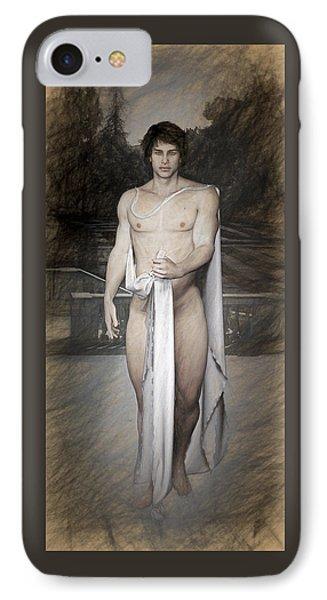 Daphnis Myth IPhone Case by Quim Abella