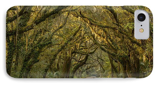 Dappled Morning IPhone Case by Mike Lang