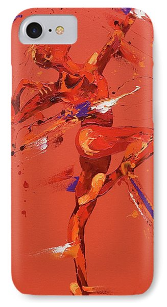 Dare IPhone Case by Penny Warden