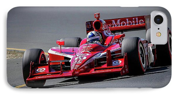 Dario Franchitti IPhone Case by Webb Canepa