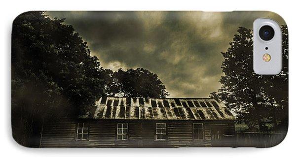 Dark Abandoned Barn IPhone Case