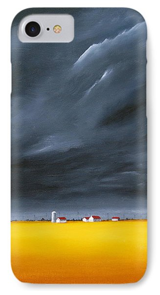Dark And Stormy IPhone Case by Jo Appleby