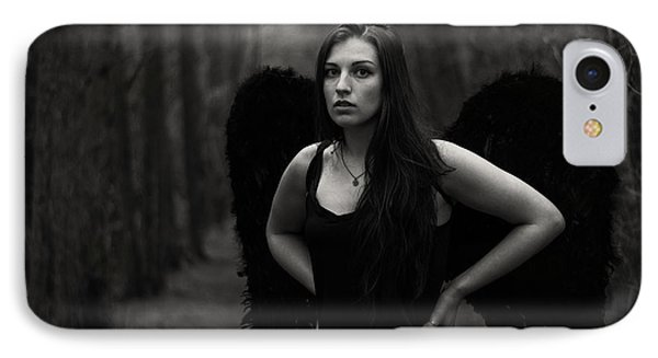 Dark Angel IPhone Case by Brian Hughes
