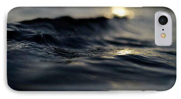 IPhone Case featuring the photograph Dark Atlantic Traces by Laura Fasulo
