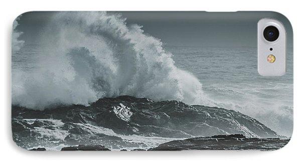 Dark Atmospheric Coastline IPhone Case