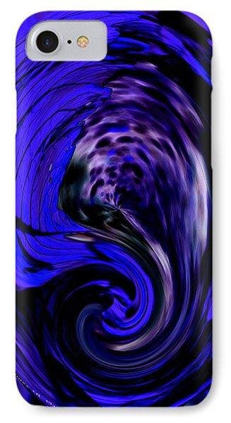 Dark Blue Egg IPhone Case