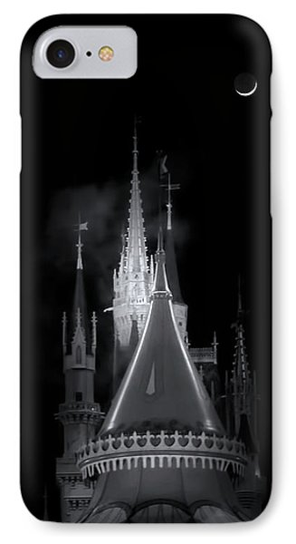 IPhone Case featuring the photograph Dark Castle by Mark Andrew Thomas