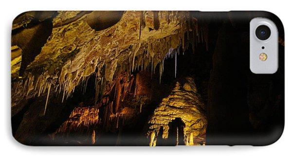 Dark Cave Phone Case by Oscar Moreno