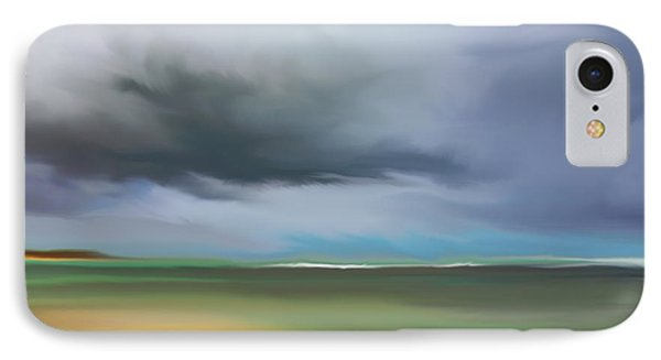 Dark Cloud - Punta Cana IPhone Case by Dennis Kirby