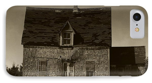 Dark Day On Lonely Street IPhone Case by RC DeWinter