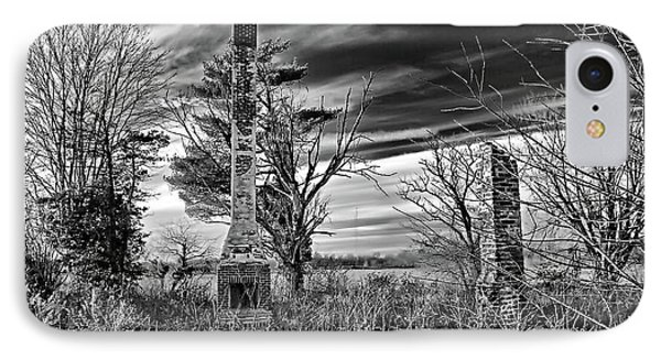 IPhone Case featuring the photograph Dark Days by Brian Wallace
